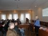 На лекции Елены Осипенко и Юрия Буянова в Житомире, 5 февраля 2012 г