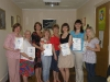 Вручение сертификатов практических астропсихологов в г. Житомире